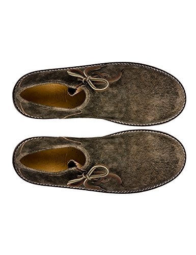 Stockerpoint Herren 1224 Oxfords Braun (Bison (Dunkelbraun))