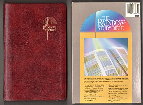 The Rainbow Study Bible: Holy Bible Containing the Old and New Testaments, King James Version