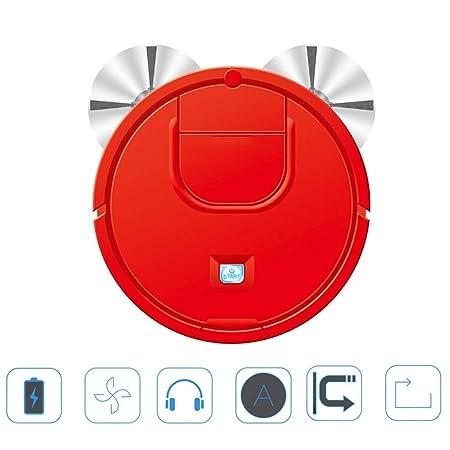 INTELZY Aspirador Robot, Aspiradora Automática 3 en 1 con 6Cm ...