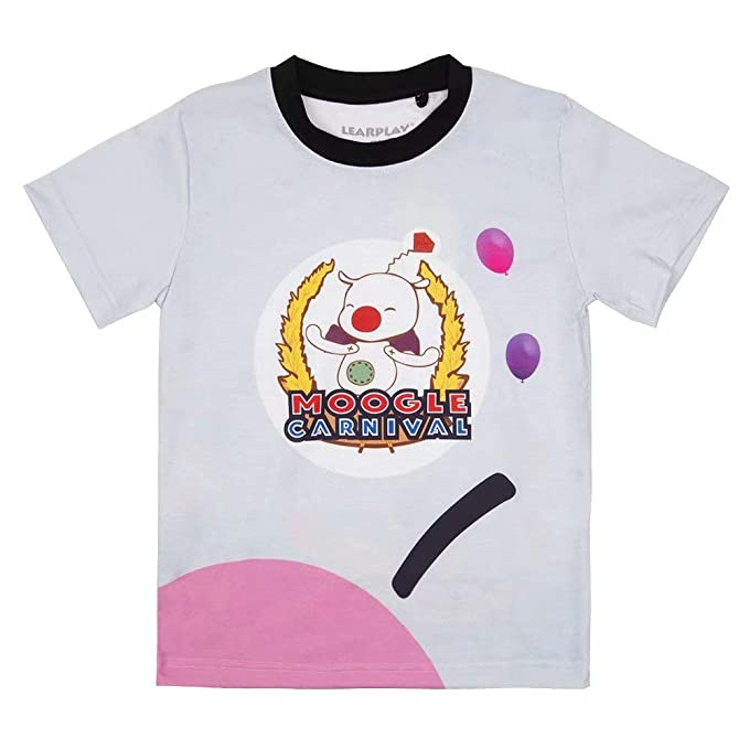 Amazon com: Learplay FF15 Moogle Chocobo Short Sleeve T