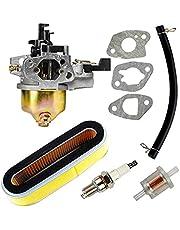 Carkio vervanging voor carburateurluchtfilter, bougie, brandstoffilterset voor Honda GXV120 GXV140 GXV160 motoren HR194 HR195 HR214 HRA214 HR215 HR216 HRA216 HRC216 grasmaaier.