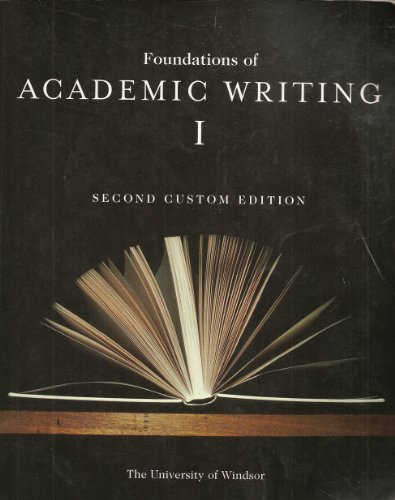 Foundations of academic writing faw essay