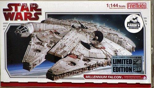 Fine Molds 1/144 Chrome Plated Stars Wars Millennium Falcon (Limited Edition) (Fine Molds Millennium Falcon)
