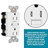 1 Pack - GFCI Duplex Outlet Receptacle - Weather