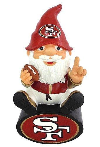 San Francisco 49ers Garden Gnome - On Team Logo - License...