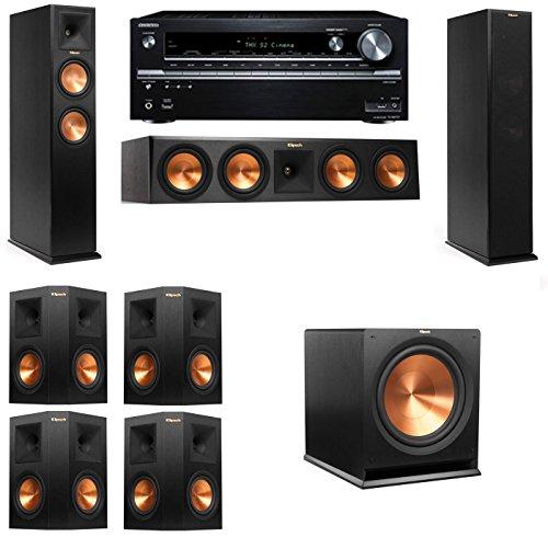 Klipsch RP-250F Tower Speakers-7.1-Onkyo TX-NR838