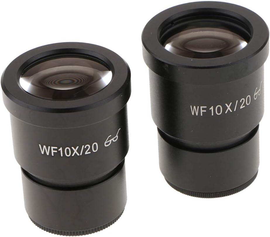 Baoblaze 2X Microscopio Esterescópico Lente Lupa Ocular para Leica Zeiss Nikon Universal