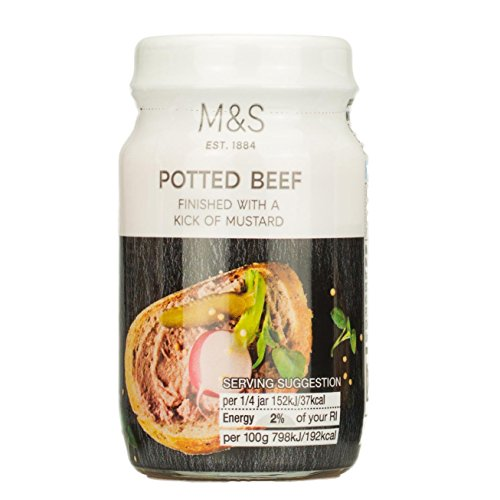 (Marks & Spencer M&S Potted Beef 2 x 75g Twin Pack From the UK)
