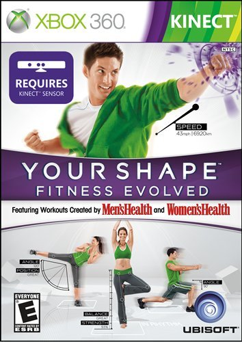 Your Shape Fitness Evolved - Xbox 360 (Best Boxing Game For Xbox 360 Kinect)