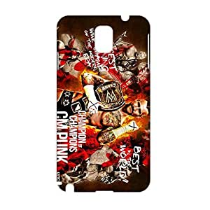 WWAN 2015 New Arrival cm punk wallpaper 2013 3D Phone Case for Samsung NOTE 3
