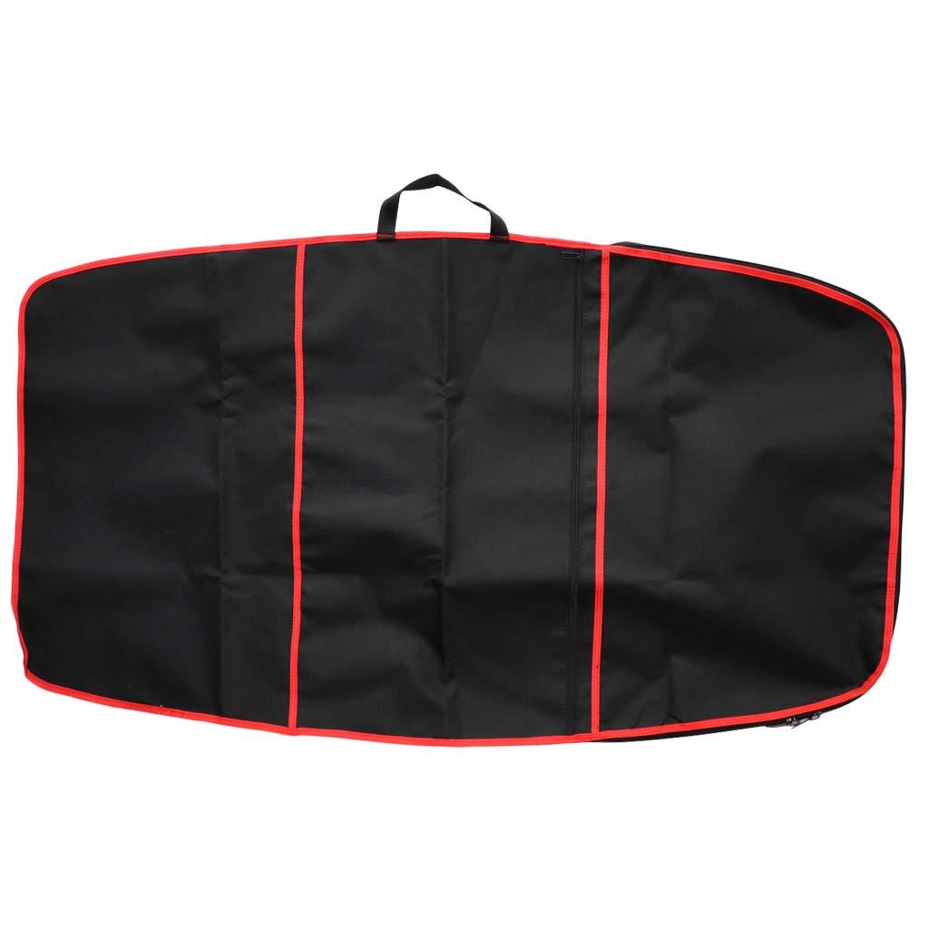 IPOTCH Copriscarpe Bodyboard Poliestere 600D Borsa Sacchetto Porta Oggetti - Rosso