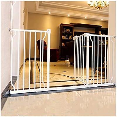 Puerta De Bebé Puerta De Seguridad For Bebés For Pasillos Escaleras De Jardín Puertas Puerta For Mascotas Bar Valla For Perros Interior Anti-chimenea Barandilla De Aislamiento Jaula De Seguridad For N: Amazon.es: