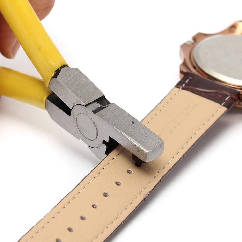Perforatrice pour cuir - Perforation facile - Trous ronds de 2 mm pour  ceinture, selle, bracelet de montre, chaussures, vêtements, etc.:  Amazon.fr: Fournitures de bureau