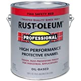 RUST-OLEUM 7564-402 Professional Gallon Safety Red Enamel Paint