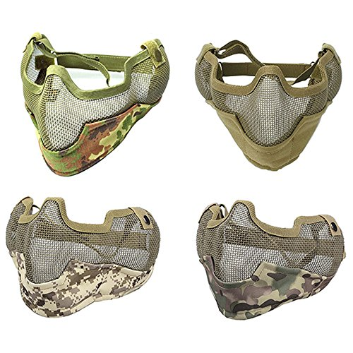 low profile airsoft mask - 4