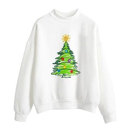 89f3c595425 Amazon.com: Clearance Sale for Women Tops.AIMTOPPY Women Christmas ...