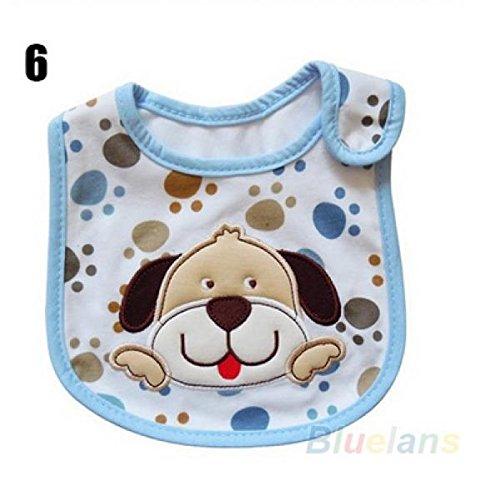 Baby Girl Boy Towel Saliva Waterproof New Kids Cartoon Pattern 3 Layer Toddler Lunch Bibs Burp Cloths Style 6
