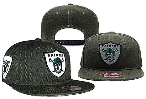 Oliva Unisex Hip Hop Raiders Fans apoyo sombreros gorra ajustable ...