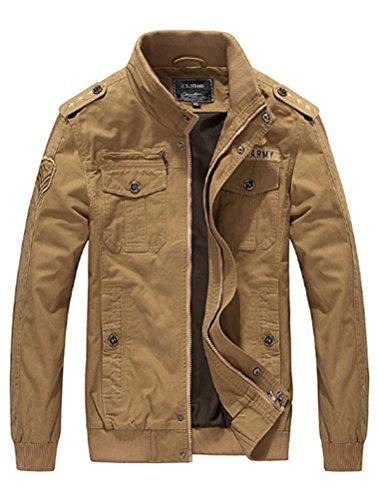 Homme Militaire Printemps Hiver Style Matchlife D' Style2 Automne kaki Manteau Blouson Masculine Veste gwOpqxdO