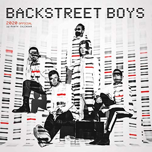 Backstreet Boys 2020 12 x 12 Inch Monthly Square Wall Calendar, Music Boy Band Musicians