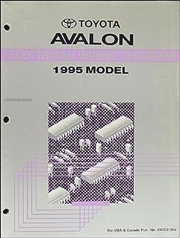 1995 toyota avalon wiring diagram manual original toyota amazon rh amazon com 2001 avalon wiring diagram 2001 toyota avalon wiring diagram