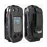 Verizon Wireless Samsung U680 Convoy 3 Original Swivel Fitted Case Soft Black Leather Holster