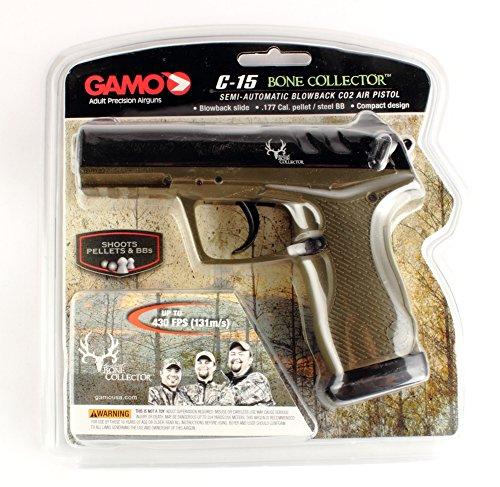 Gamo 611139354 C-15 Bone Collector Pellet/BB Pistol