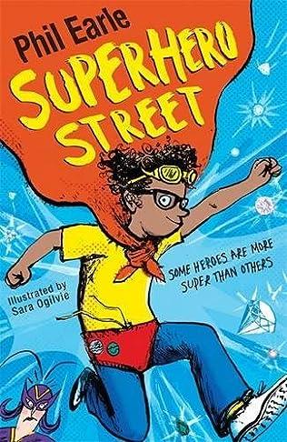 book cover of Superhero Street