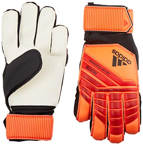 adidas Predatorator Junior Top Training Fingersaver Goalkeeper Gloves, Active Red/Solar Red/Black, Size 7