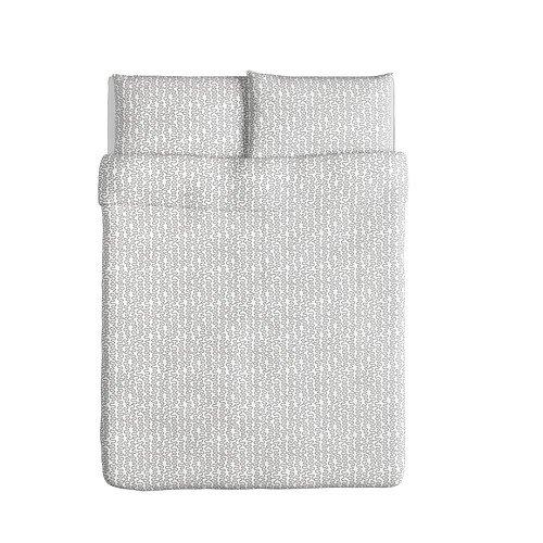 ikea-krakris-duvet-cover-and-pillowcases-full-queen-gray-white