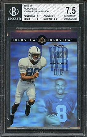 Amazoncom 1996 Sp Holoviews 38 Marvin Harrison Colts