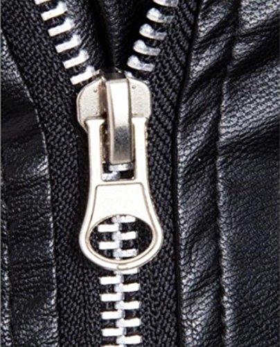 DUUMY La veste d'équitation classique pour hommes américains plus épais , Black , L