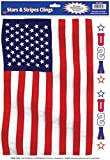 Beistle Company - American Flag Window Cling - Standard