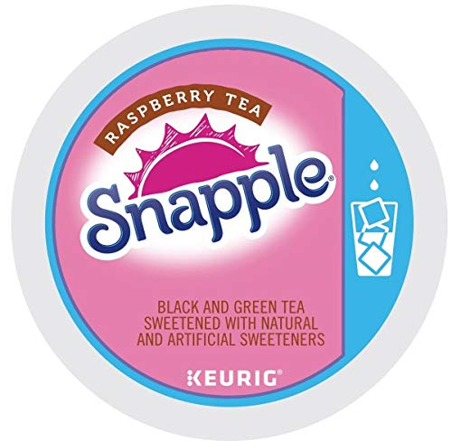 Snapple Iced Tea, Raspberry, 22 Count by Snapple