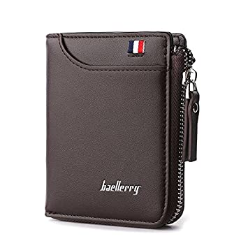 Baellery Baellerry Artificial Leather Men's Wallet  311_Brown
