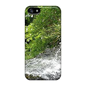 Tpu Case Cover Compatible For Iphone 5/5s/ Hot Case/ Waitakere Waterfall