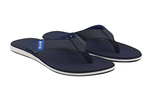 Buy RTS Blue Slippers for Men- Size 08