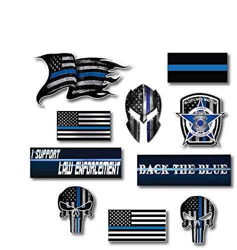 10 best thin blue line stickers for trucks