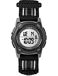 Kids TW7C26400 Time Machines Digital 35mm Black Double-Layered Fast Wrap Watch
