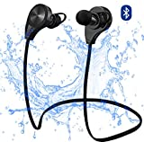Bluetooth Earphones Earbuds Wireless Ear Buds With Built In Microphone