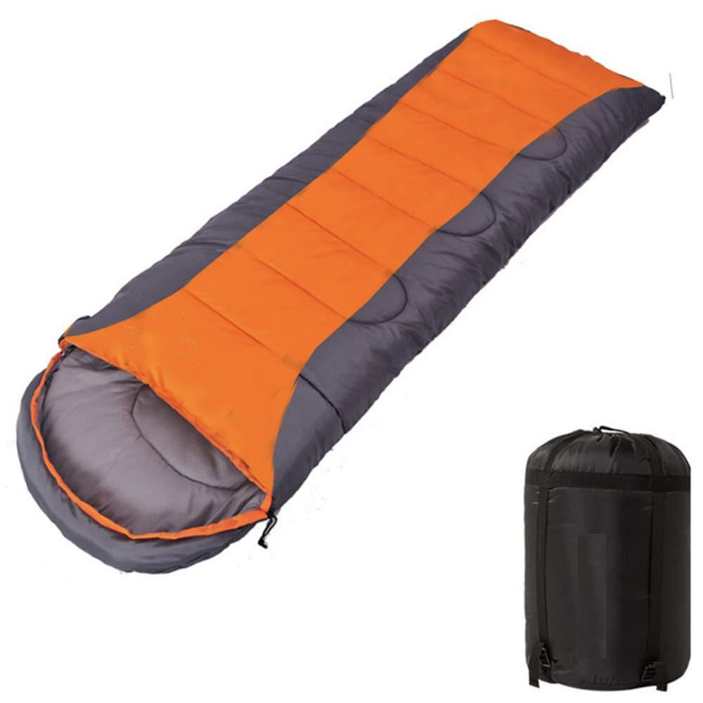 GOFEI Sac de Couchage portatif, Sacs de Couchage légers avec enveloppe de Saison 3-4 Saison avec Sac de Compression pour randonnée pédestre Camping