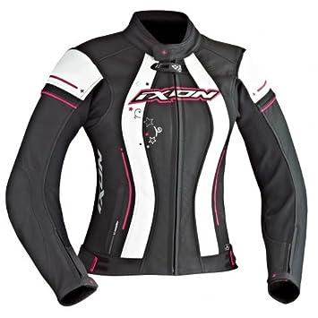 Ixon - Chaqueta Moto - Ixon Alcyone negro/blanco/Fucsia ...