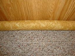 Door Draft Stopper Filled with Fragrant Balsam - Standard - Golden Leaves