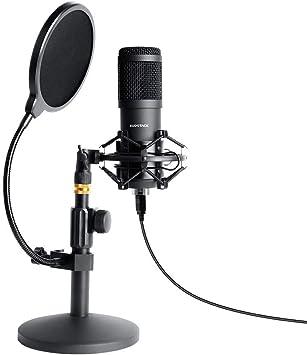 Amazon.com: SUDOTACK - Micrófono de PC Podcast con ...