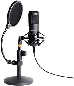 microphone for audio content