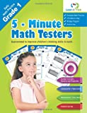 5 Minute Math Testers - Grade 1, Learn To Think Pte.Ltd., 1494873125