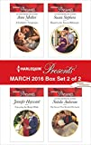 Harlequin Presents March 2016 - Box Set 2 of 2: A Forbidden Temptation\Carrying the King's Pride\Bound to the Tuscan Billionaire\The Secret That Shocked De Santis