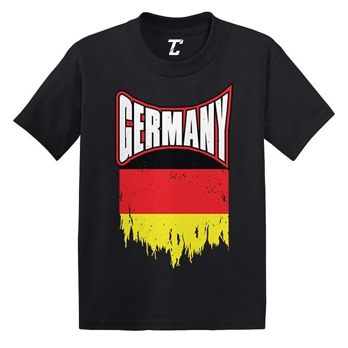 Amazon.com: Camiseta de algodón con la bandera alemana de ...