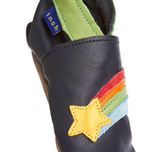 Inch Blue Krabbelschuhe Rainbow Star Navy, Large