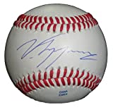 Cincinnati Reds Vin Mazzaro Autographed Hand Signed Baseball with Proof Photo of Signing, Pittsburgh Pirates, Oakland Athletics A's, Atlanta Braves, San Francisco Giants, Kansas City Royals, COA